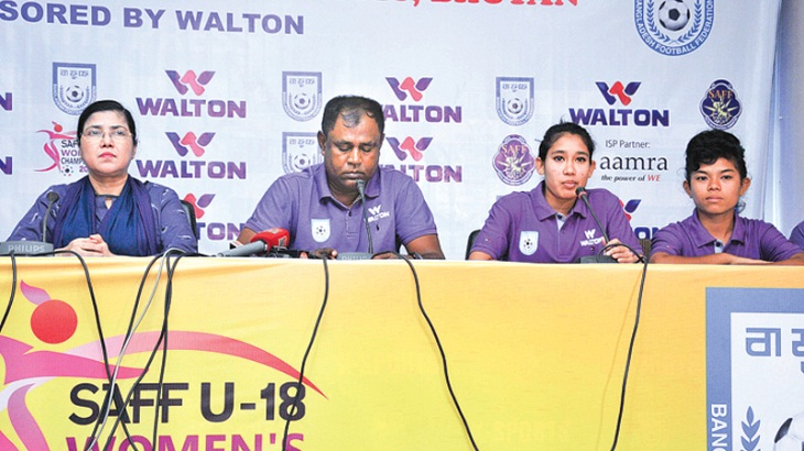 SAFF Women's Champs: Bangladesh U-18 team leave for Bhutan Wednesday