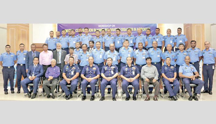 Workshop on 'Mutual co-operation in handling aviation disaster in airports'