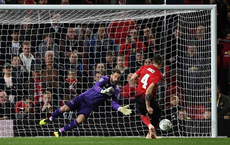 Derby beat Manchester United 8-7 in shootout