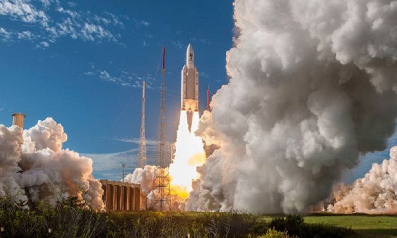 Europe's Ariane-5 rocket makes 100th flight