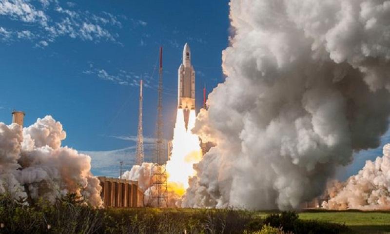 Europe's Ariane-5 rocket makes 100th flight