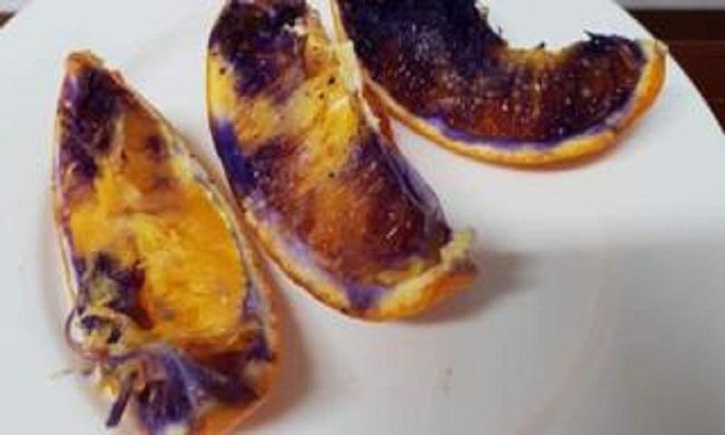 Orange turns purple: Australian scientists solve fruit mystery
