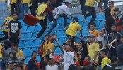 Indonesia's top football league suspended after fan dies