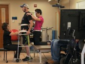 Implant helps paralysed man walk again