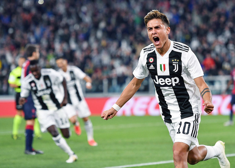 Dybala breaks drought to help Juventus beat Bologna 2-0