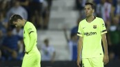 Stunned: Barca loses to last-place Leganes, Real to Sevilla