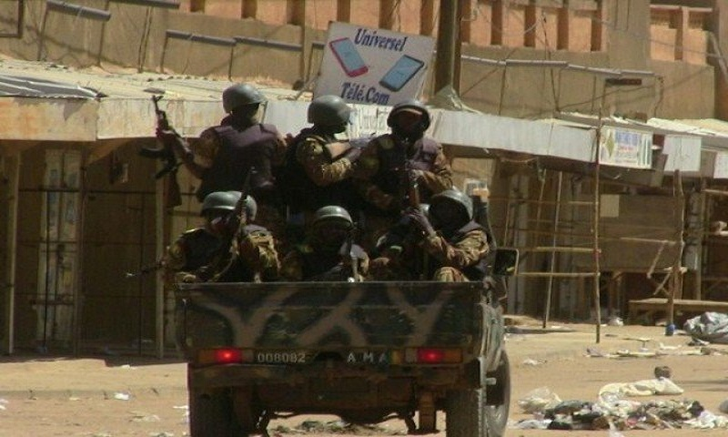 7 Mali soldiers, driver killed after vehicles hit explosives