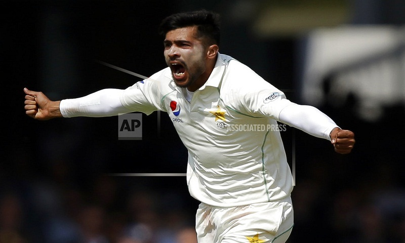 Pakistan drops Amir for test series against Australia
