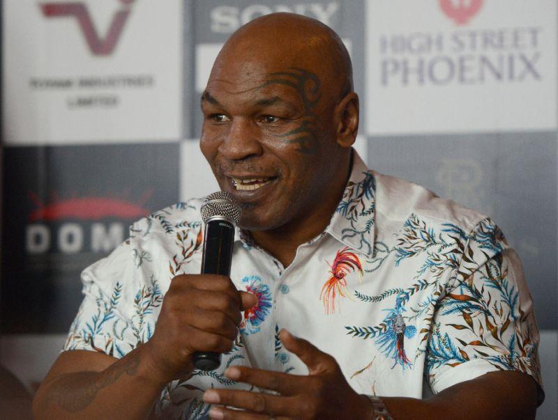 'I'm a slumdog', Mike Tyson says on India trip