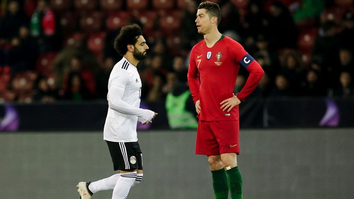 Let's not lie, my goal was better than Salah's, says Ronaldo