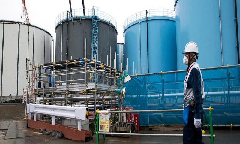 Treated water at Fukushima nuclear plant still radioactive