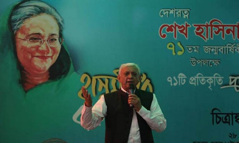 71 portraits of PM marking her birth anniversary