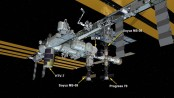 Space station receives special delivery from Japan's White Stork