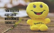 Selfless acts of kindness makes you feel happier