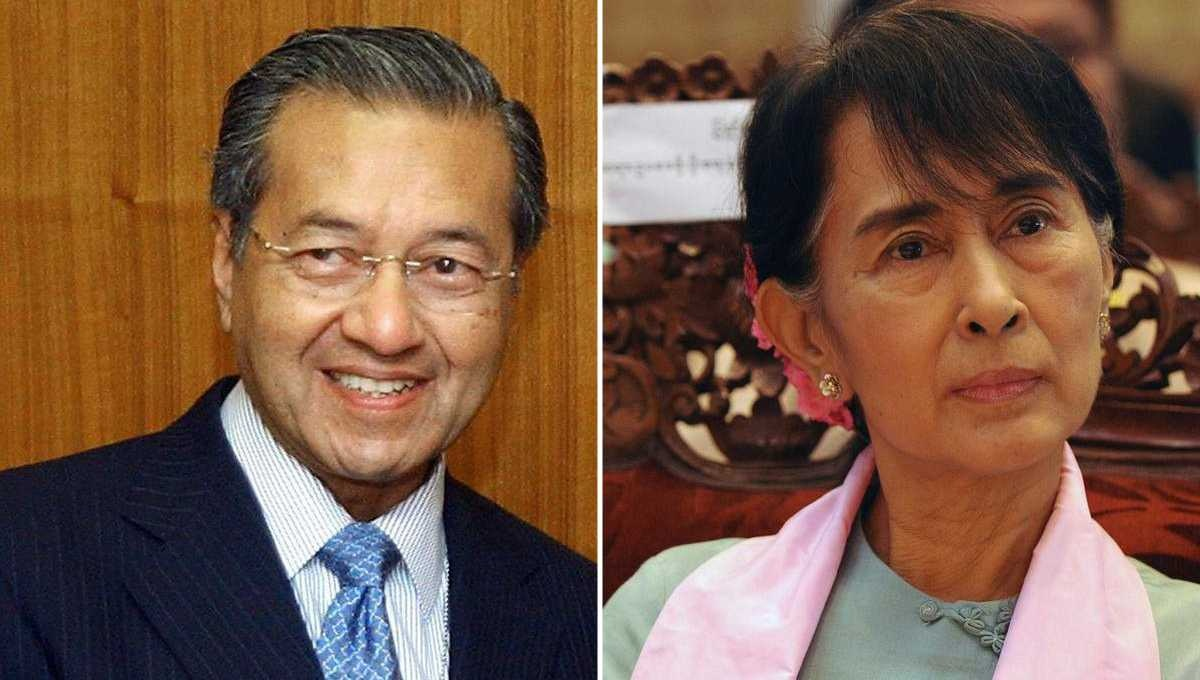 Suu Kyi lost Malaysia's support for her role against Rohingya: Mahathir
