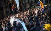 14 injured, 6 arrested in Catalonia clash