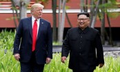 Trump says he and Kim Jong Un 'in love'