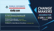 WUB-Daily Sun Change Makers Awards event on Tuesday