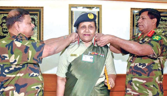 Bangladesh gets first female  Major General