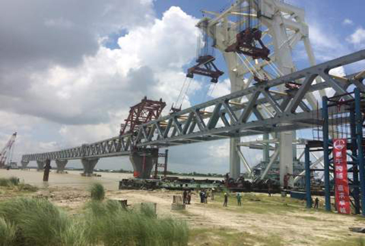 Prime Minister to see Padma Bridge construction progress on October 13