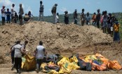 Indonesian quake: Bodies found in church buried by landslide