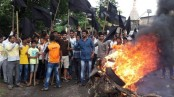 Clashes at Indian farmers protest