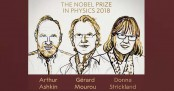 Trio win Nobel Physics Prize for laser physics work