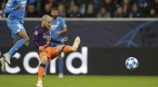 Manchester City down Hoffenheim 2-1 in UEFA Champions League