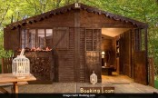 A cottage made entirely of chocolate and you can actually stay in it