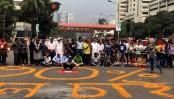 FFs' children block Shahbagh intersection; demand 30 percent quota