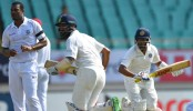 India 133-1 against West Indies in first Test