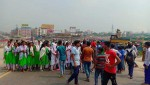 Locals block Dhaka-Chattogram highway protesting accident at Kanchpur