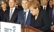 Germany's Merkel tours Israel's Yad Vashem Holocaust museum