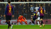 Messi's double gives Barca 4-2 victory against Tottenham in Champions League