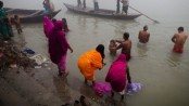 Two men arrested over India Ganges 'rape video'