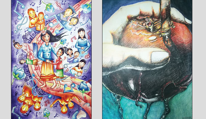 An Event Dedicated To Children's Art