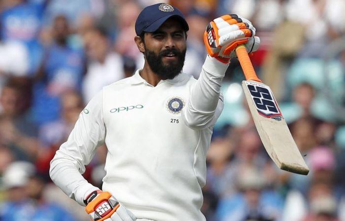 Jadeja hits maiden Test century; India 649-9 dec