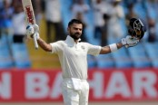 Virat Kohli quickest to 24th Test ton after Donald Bradman