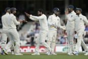 West Indies 94/6 at stumps, trail India by 555 runs