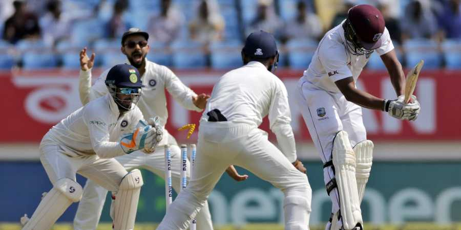 India dismiss West Indies for 181, enforce follow-on