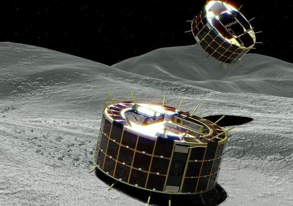 Japanese spacecraft drops observation device onto asteroid
