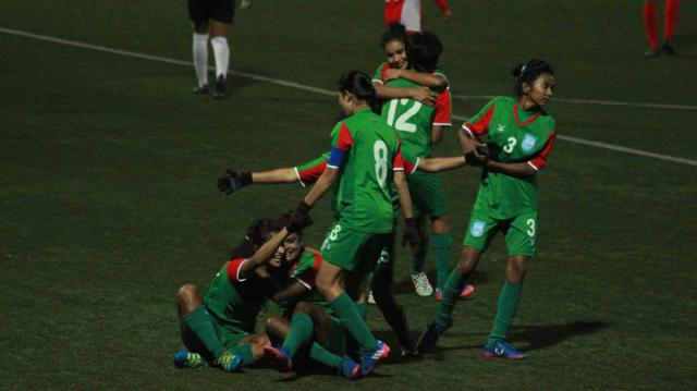 Bangladesh clinch SAFF U-18 Women's Championship title