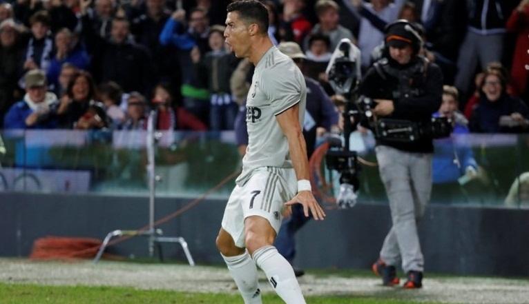 Embattled Ronaldo scores as Juventus beat Udinese
