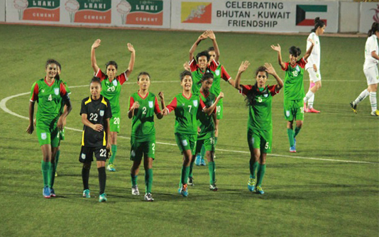 Bangladesh take on Nepal in SAFF U-18 Women's Championship today