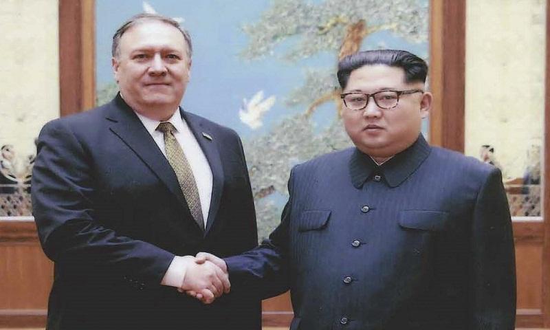 Pompeo meets Kim to push denuke effort