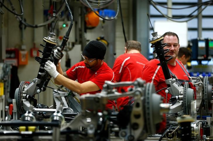 German industrial production slips again in August
