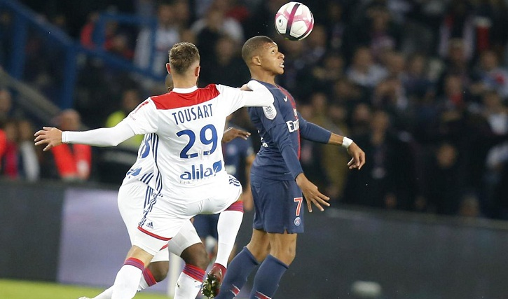 Mbappe scores 4 and earns penalty as PSG beats Lyon 5-0