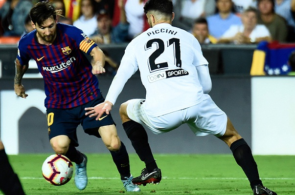 Winless run extends for LaLiga champions
