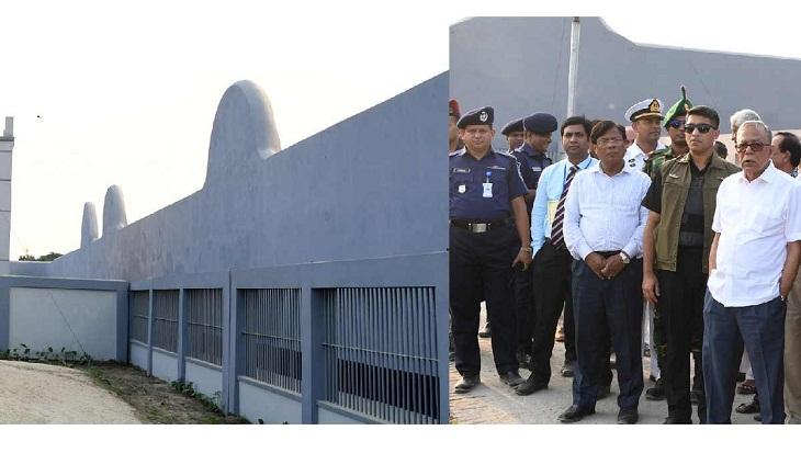 President visits dev projects in Kishoreganj