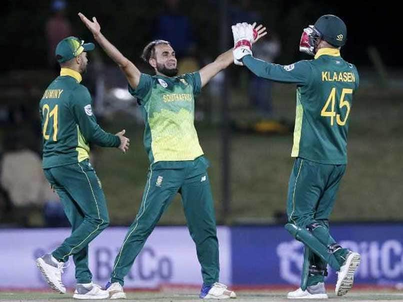 Tahir bowls South Africa to victory over Zimbabwe